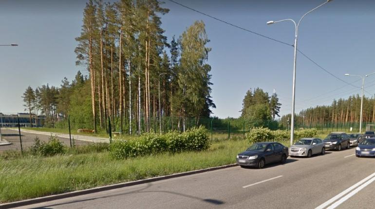 Пилот свалился с мотоцикла на севере Петербурга и попал в больницу
