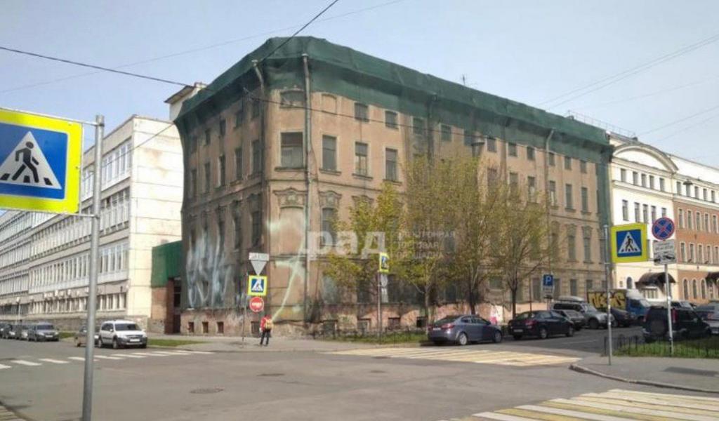 На Обводном продают историческое здание за 121 млн