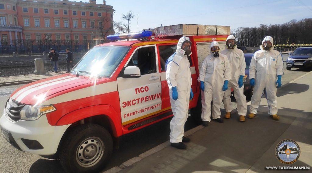 В Петербурге скоро начнёт работу «коронавирусный патруль»