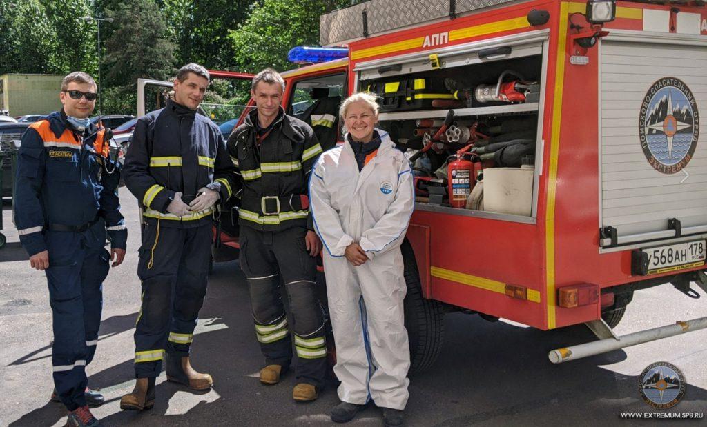 Один день из жизни смелой женщины — добровольного пожарного