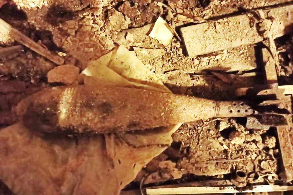 В Адмиралтейском районе нашли минометную мину в подвале дома