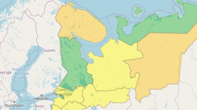Гроза повысила уровень погодной опасности в Ленобласти