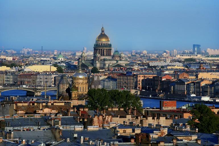 Петербург возглавил рейтинг самых романтичных российских городов