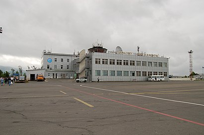 Взрывные устройства после анонимного сообщения в аэропорту Южно-Сахалинска не нашли