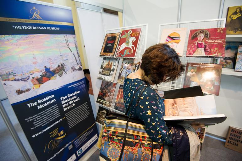 Телеканал Санкт-Петербург покажет XVI Международный книжный салон в прямом эфире