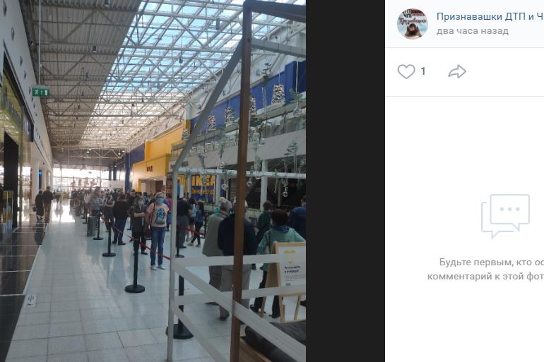 «Очередь на час-два»: петербуржцы оккупировали ИКЕА в первый день работы