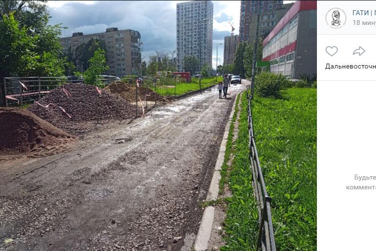 В Петербурге подрядчику грозит крупный штраф за некачественное благоустройство