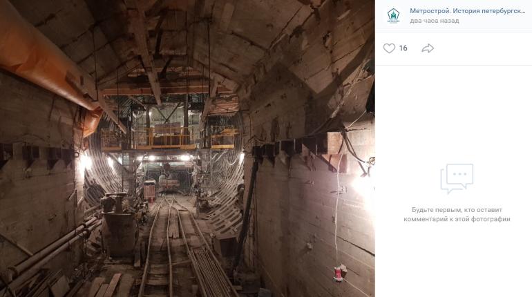 «Петровна» пройдёт в тоннеле петербургской подземки