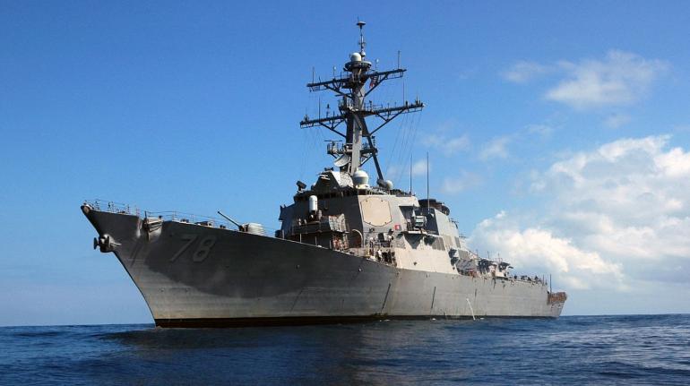 Эсминец ВМС США вошел в акваторию Черного моря, за ним следит российский флот