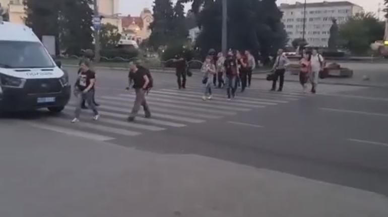 В Луцке освободили заложников, террорист задержан