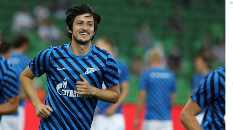 «Зенитовцы» будут играть в домашней одежде на матче с ЦСКА