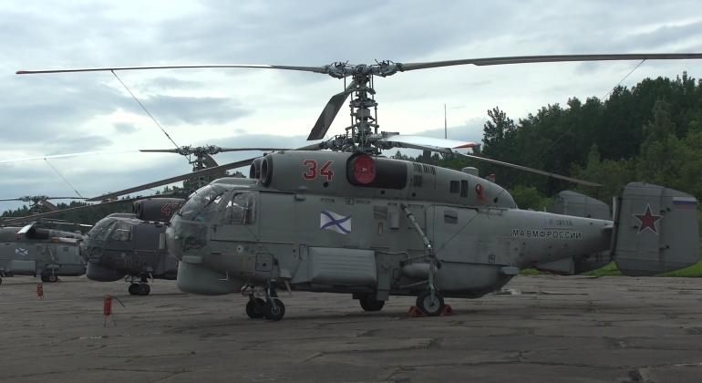 Самолеты и вертолеты прибыли в ЗВО для участия в Главном военно-морском параде