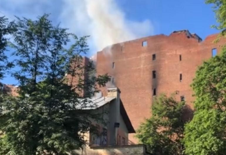 Чем известен дом Басевича, который горит