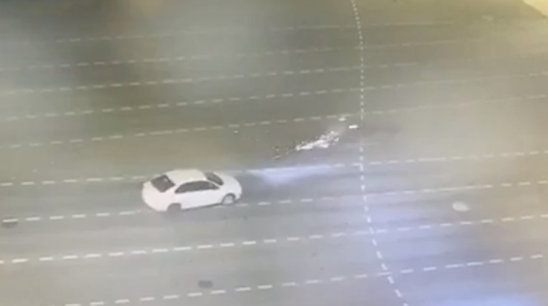 На Московском такси сбило мотоциклиста