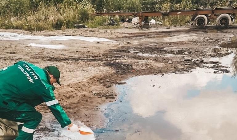 За неделю в Петербурге ликвидировали более 2,5 тонн опасных отходов