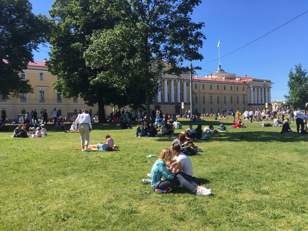 Как Петербург отметил День ВМФ
