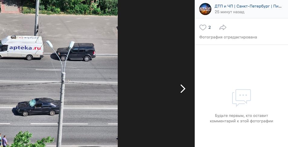 На Шлиссельбургском насмерть сбили велосипедистку