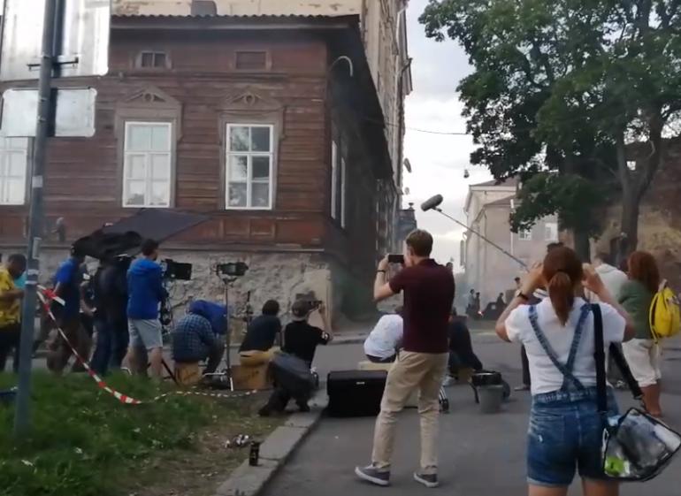 Киношники напугали жителей Выборга мощным взрывом