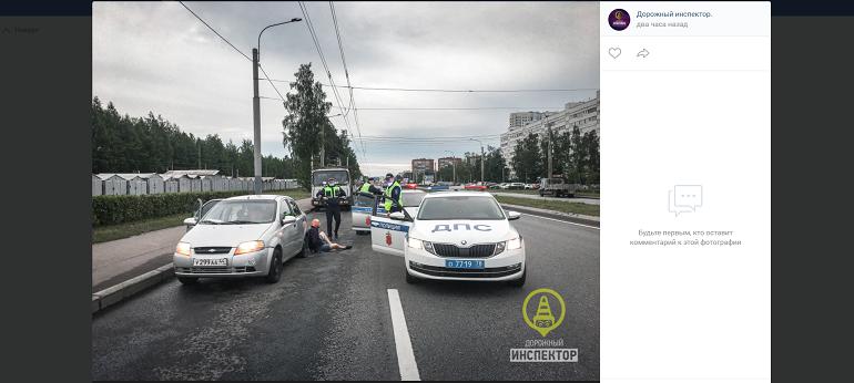 Погоня и стрельба: как задерживали пьяного водителя в Калининском районе