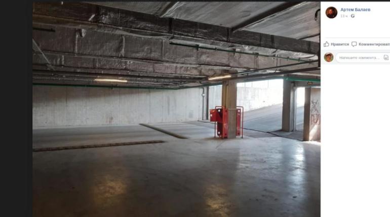 Граффитистов зовут в подполье: ТРК Петербурга предлагает парковку для творчества