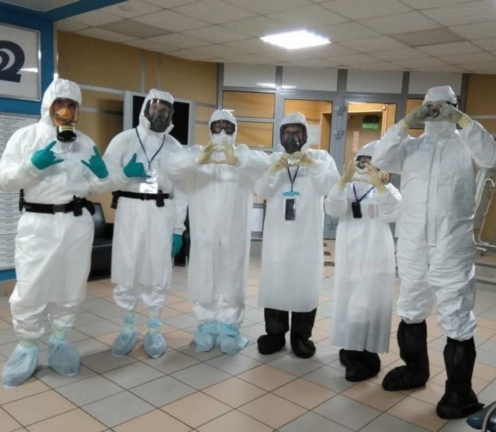 Как добровольные спасатели помогали в «красной зоне» и что они там увидели