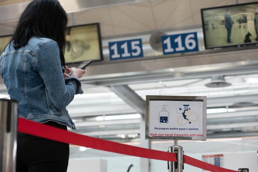 В «Пулково» отменены 9 рейсов, один – задержан