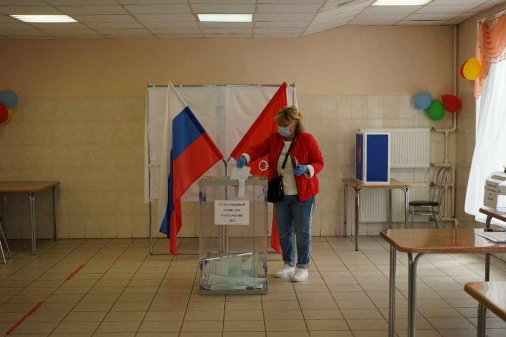 Голосование по поправкам к Конституции: за — 77,93% россиян