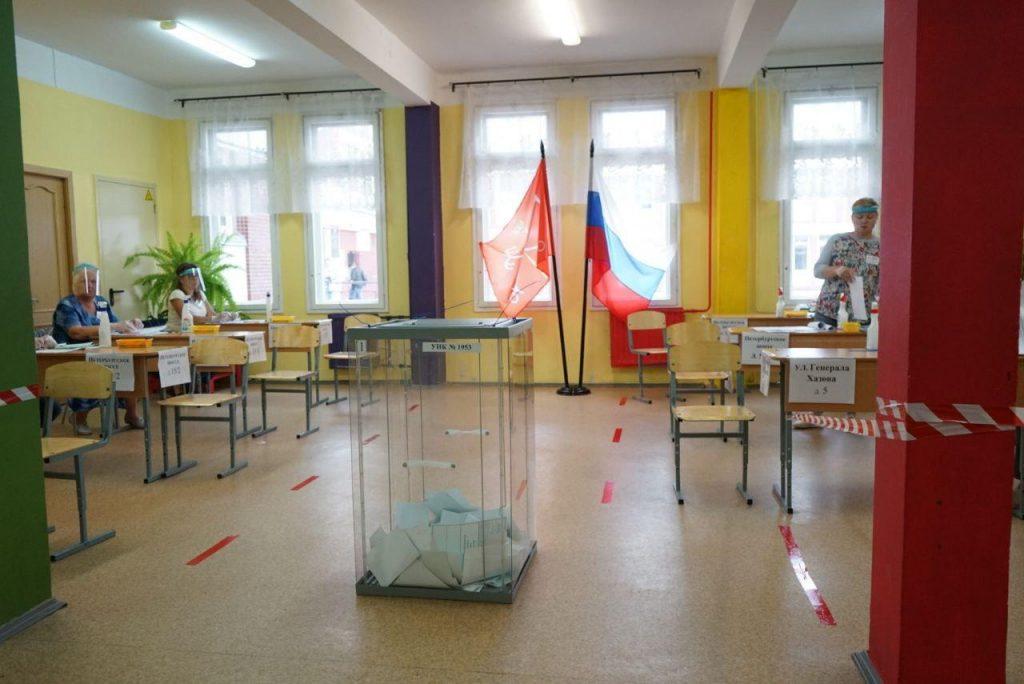 В Ленобласти поправки поддержали 79,12% избирателей, обработано 73% протоколов