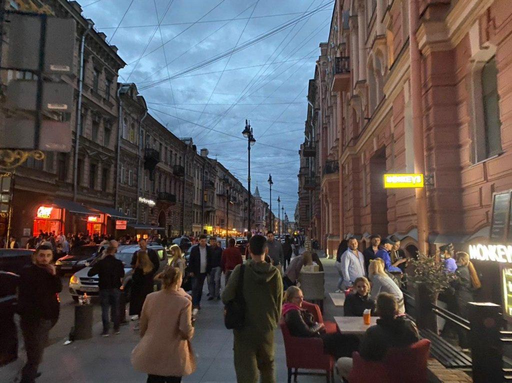 Рестораторы улицы Рубинштейна объединились в союз для саморегулирования порядка
