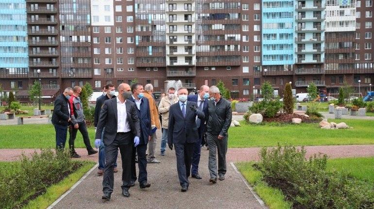 Губернатор Петербурга посетил построенную Setl Group школу в Приморском районе