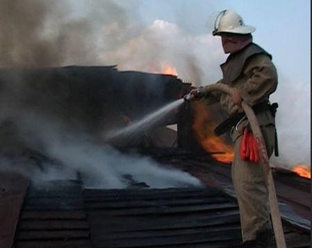 Пожарные больше часа тушили огонь в СНТ «Разлив»