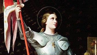 В Петербурге установят памятник Жанне Д'Арк