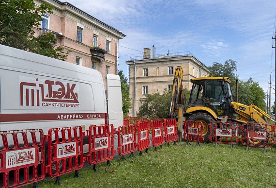ТЭК проводит испытания теплосети от групповых котельных в двух районах Петербурга