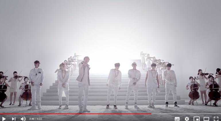 Новый клип BTS набрал 41 млн просмотров за несколько часов