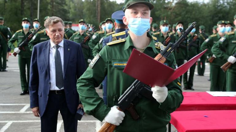 Первокурсники ВКА им. Можайского приняли присягу