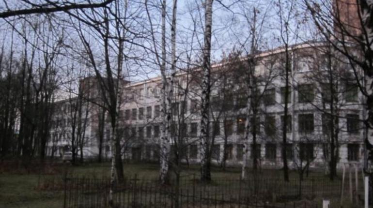 Потолок обрушился в Гидрокорпусе Политеха