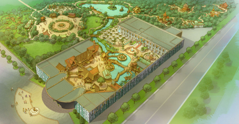 Градсовет не оценил проект парка «Лукоморье»