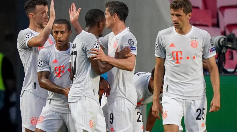 «Бавария» разгромила «Барселону» 8 мячами в 1/4 финала Лиги чемпионов