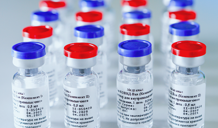 В Петербург поступило более 73 тысяч доз вакцины «Спутник V»