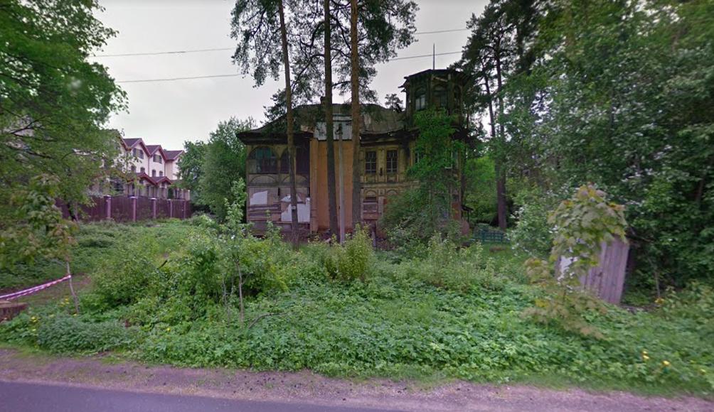 Деревянную дачу Кочкина в Сестрорецке выставили на аукцион