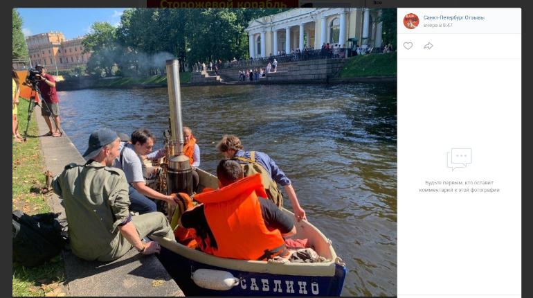 Детская мечта в действии: петербуржец создал катер на паровой тяге