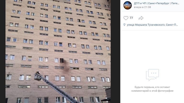 При пожаре на улице Маршала Тухачевского пострадали три женщины