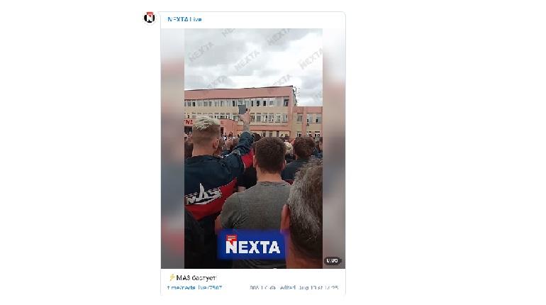 Белорусский «МАЗ» пустился бастовать