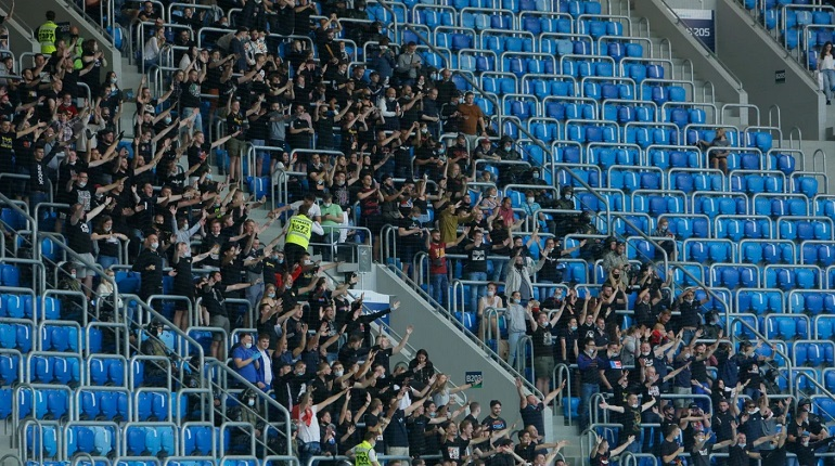 «Зенит» может ввести COVID-free сектора на своем стадионе
