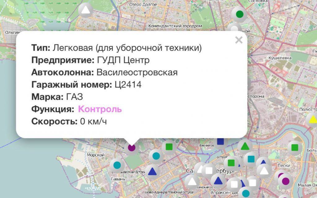 В Петербурге проконтролировали работу уборочной техники