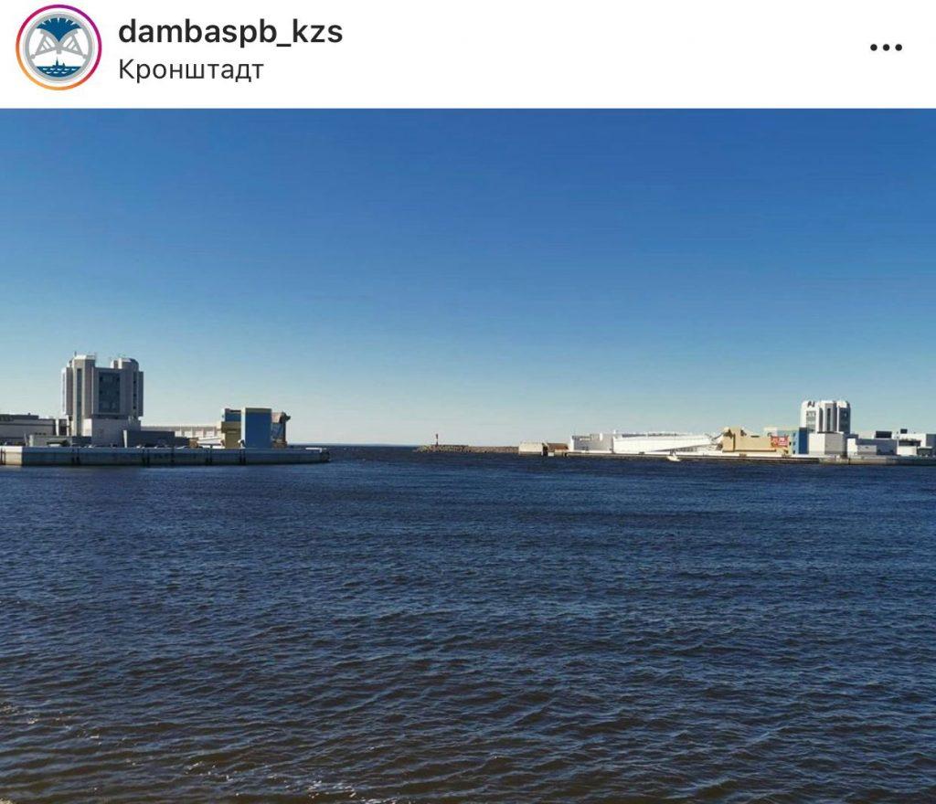 Затворы дамбы в Петербурге снова открыты