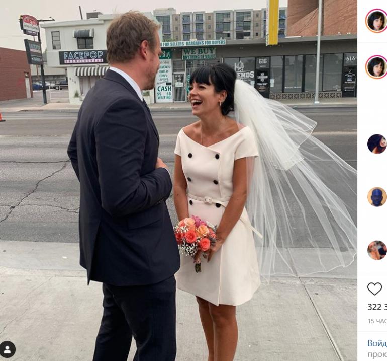 Певица Лили Аллен вышла замуж за звезду «Очень странных дел»: свадьба прошла в Вегасе