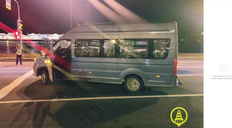 На Васильевском поймали пьяного мигранта на чужом микроавтобусе