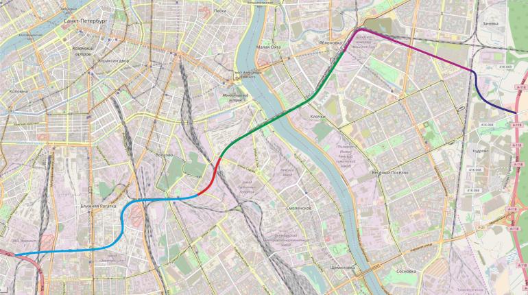 Беглов боится нехватки городских денег на проекты СКК и широтной магистрали