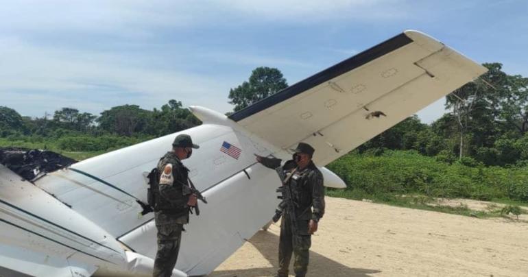 Военные Венесуэлы сбили самолет США с наркотиками